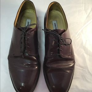 Lace up leather shoes Cap Toe Oxford